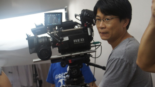 Cinematographer Jeffrey Chu http://www.imdb.com/name/nm1338118/ on the set of Analysis. http://www.obscure-productions.com/analysis.html <br /><br /><br /><br /><br />