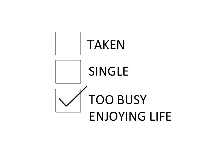 Loving My Single Life Quotes