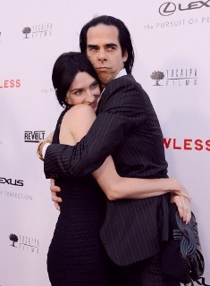 Nick Cave & Susie Bick @ Lawless premiere  Los Angeles Aug 22, 2012