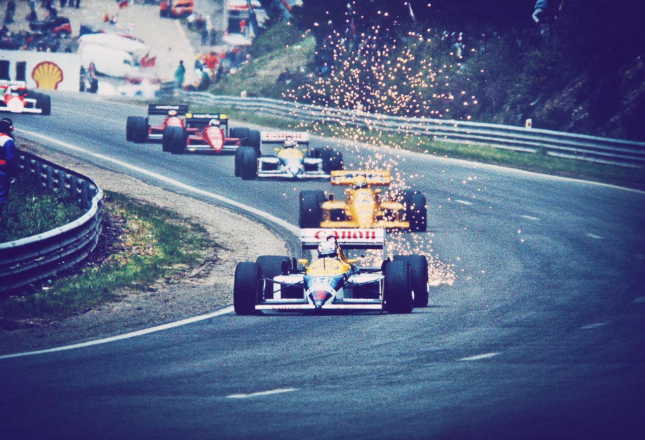 F1 discute ideias para melhorar imagem visual e pode promover volta da suspensão ativa e discos de freio incandescentes / MSN - Grande Prêmio