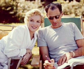 Image result for marilyn monroe and arthur clark color