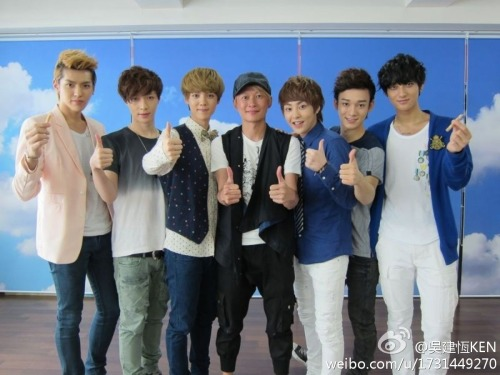 120903 EXO-M With VJ Ken  cr: 吳建恆KEN