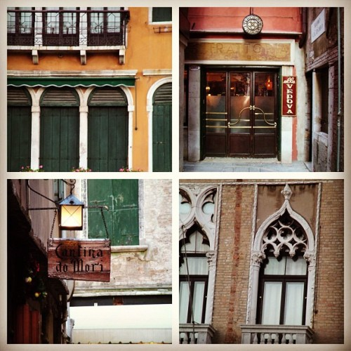 lovely venice travel picture collage