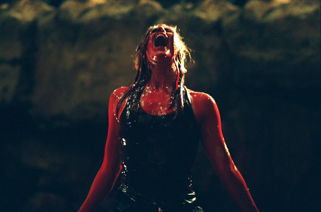 The Descent Sarah blood