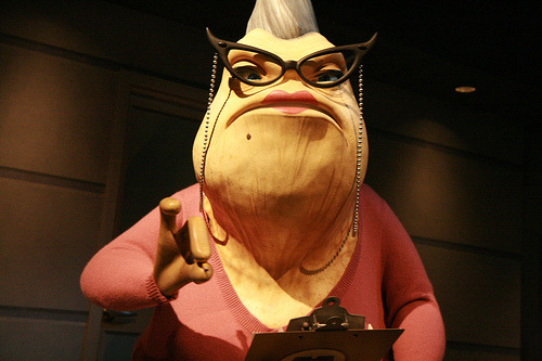 Monsters Inc. Disney Roz