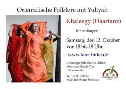 Khaleegy Workshop in den Herbstferien