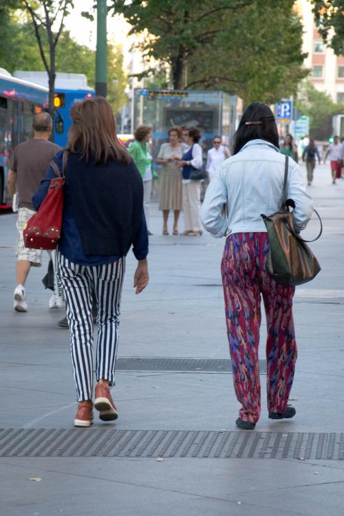 Madrid moda callejera Serrano