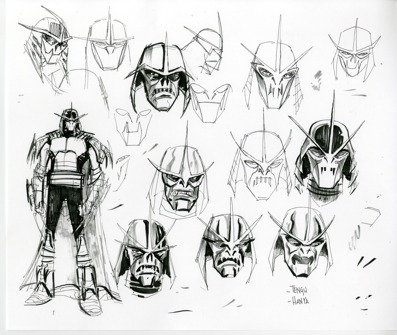 Early Concept Art For Nickelodeon S Teenage Mutant Ninja