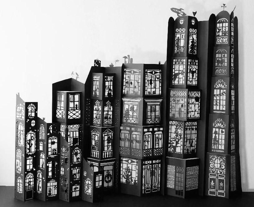 Papercut building
