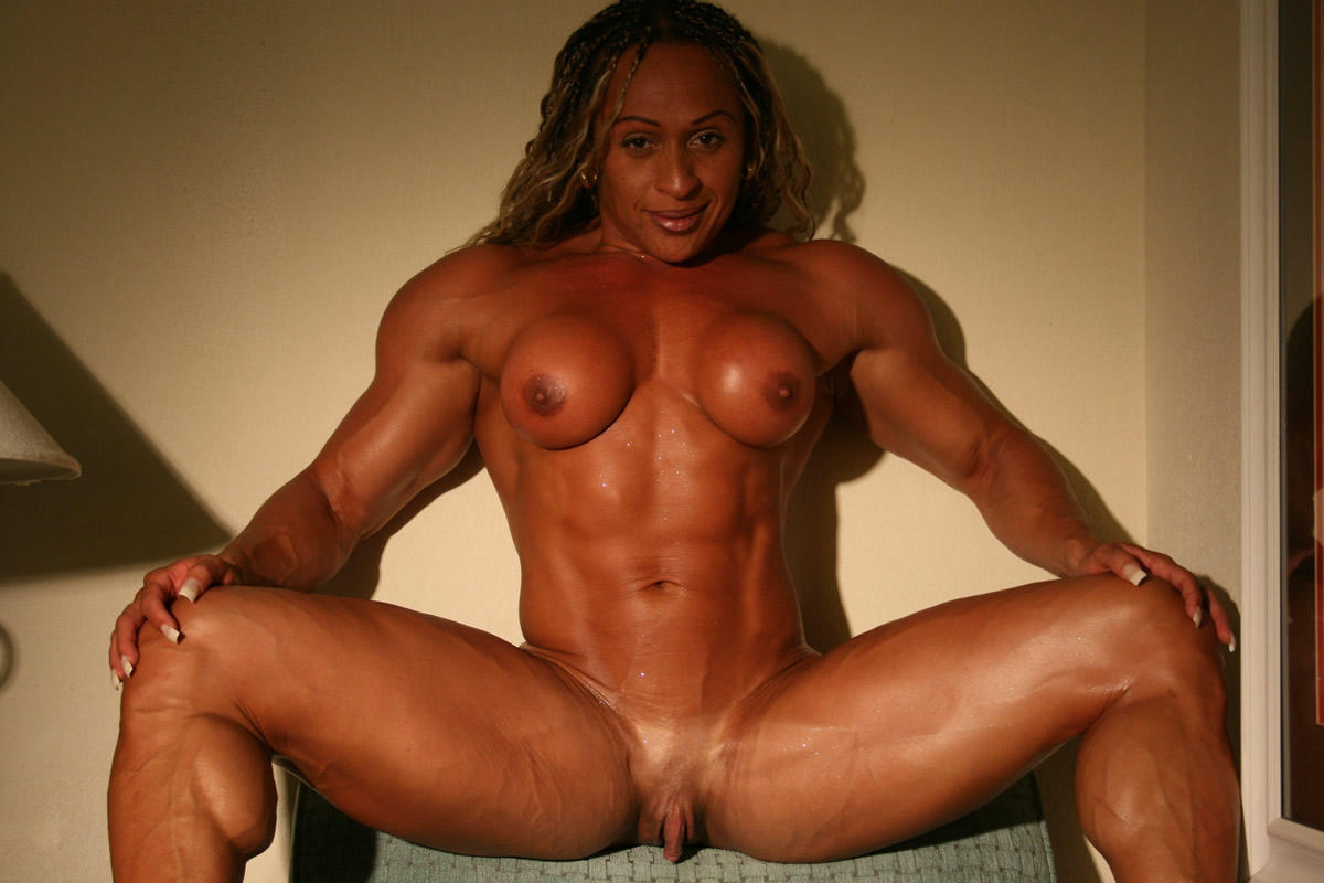 Female bodybuilder big ass