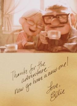Love Couple Cute Life Disney Movie Up Adventure