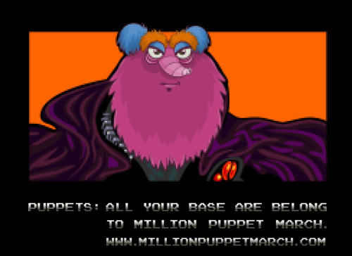 Internet meme engaged…. All Your Base Are Belong To Us