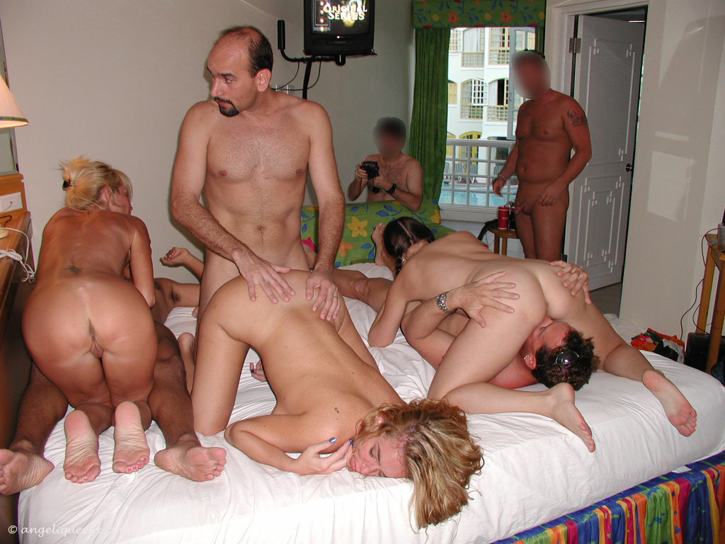 Mature amateur milf sex party could