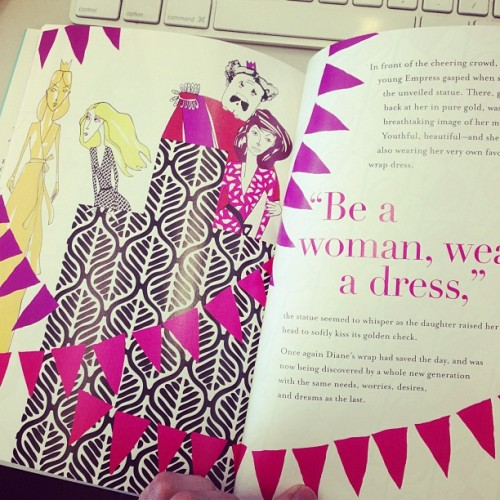 "A ""fashion fairy tale memoir"" from the always amazing @DVF"