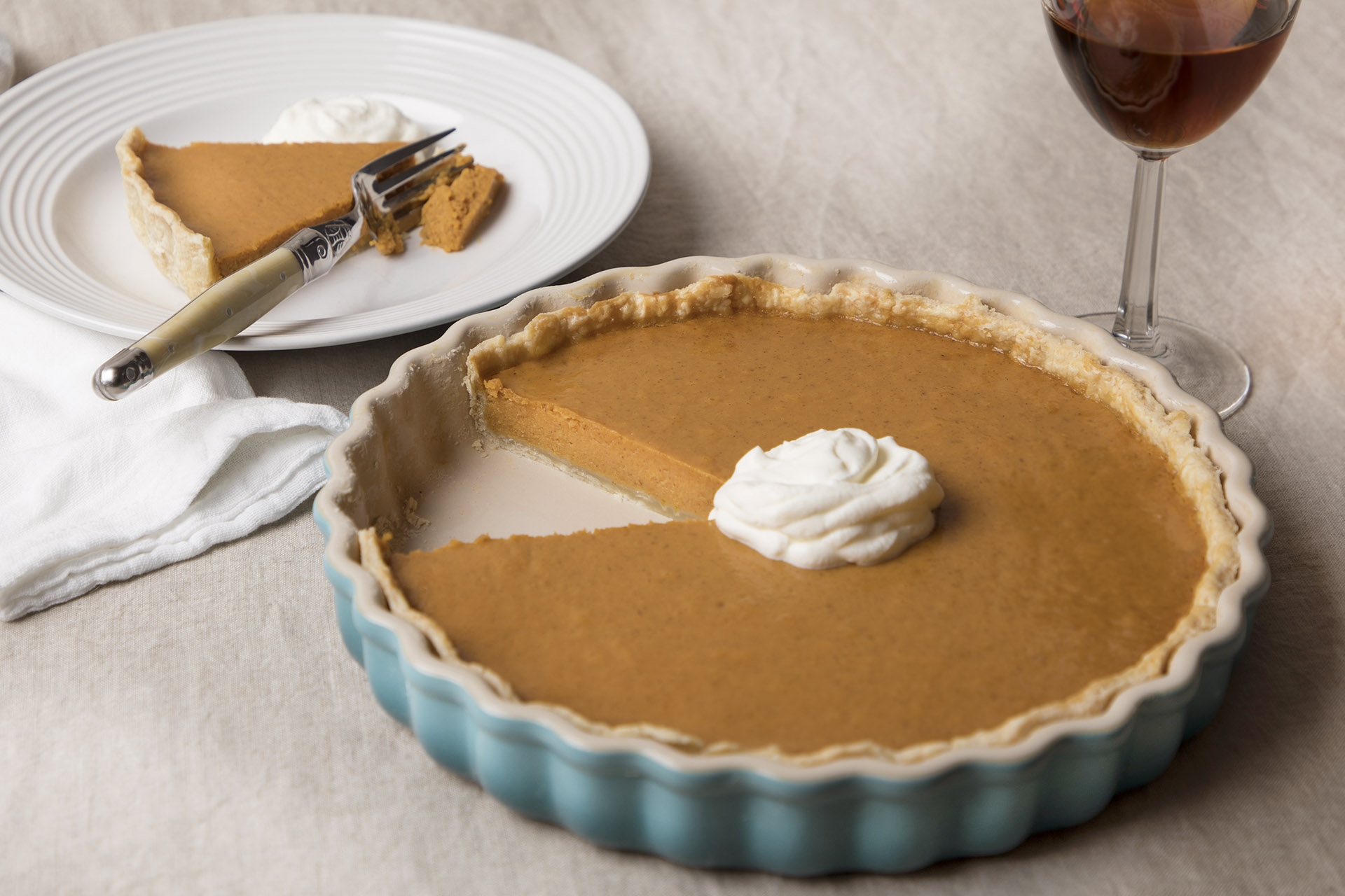 Elevate Your Pumpkin Pie With Whiskey