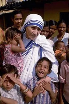 Image result for Young Mother of Teresa Calcutta