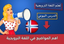 اهم المواضيع في اللغة النرويجية