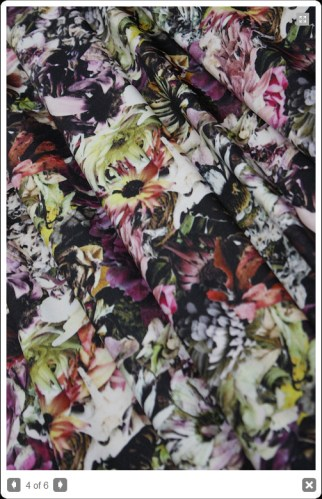 Flower Stretch - swimwear fabric