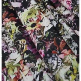 Flower Stretch - swimwear fabric