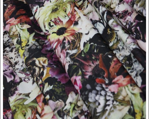 Flower Stretch – swimwear fabric
