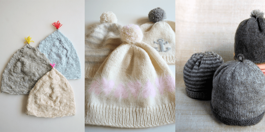 Purl Bee - Newborn Hats