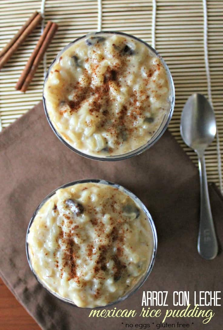 Baked Rice Custard Recipe