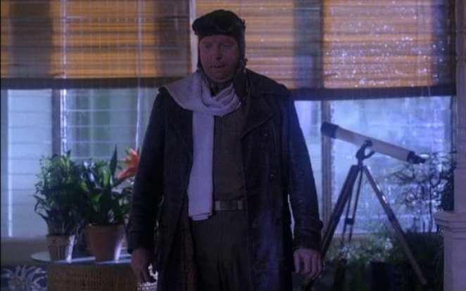 Major Briggs returns home after alien abduction