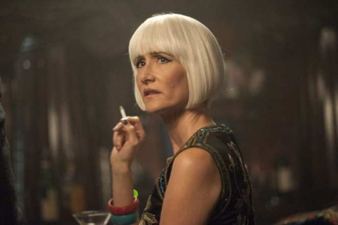 The reveal of Diane in Twin Peaks