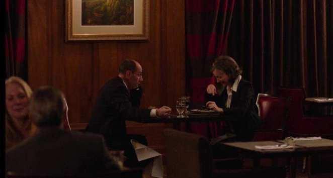 Albert and Constance have dinner in Buckhorn