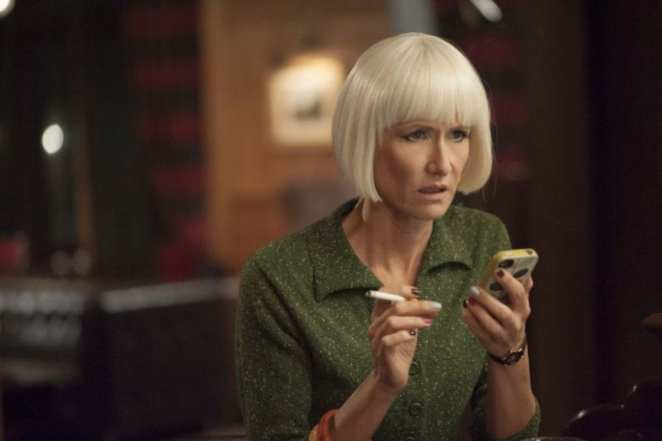 Diane gets a worrying text message