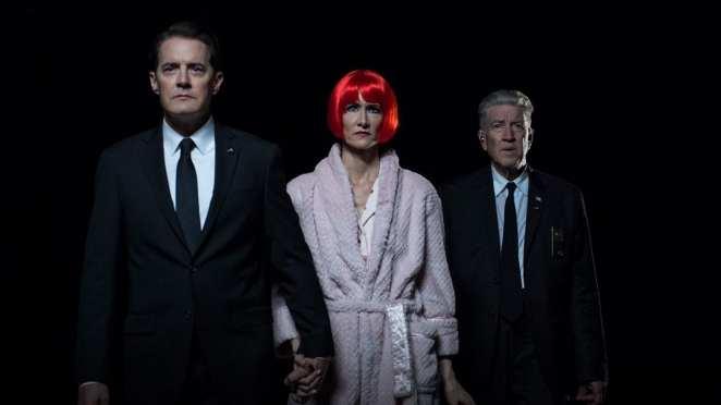 Agent Cooper, Diane and Gordon Cole