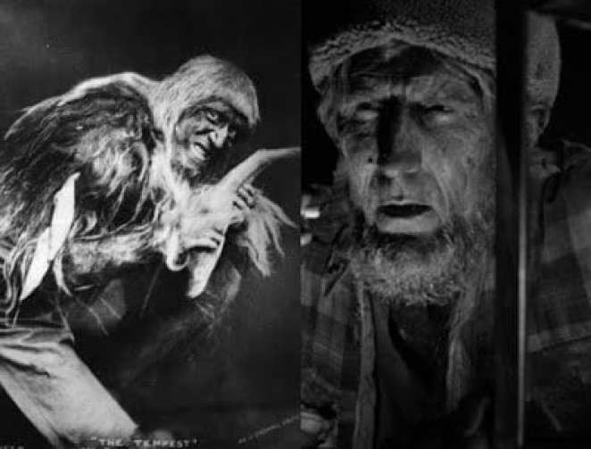 The devil in the Tempest and the Woodsman in Twin Peaks