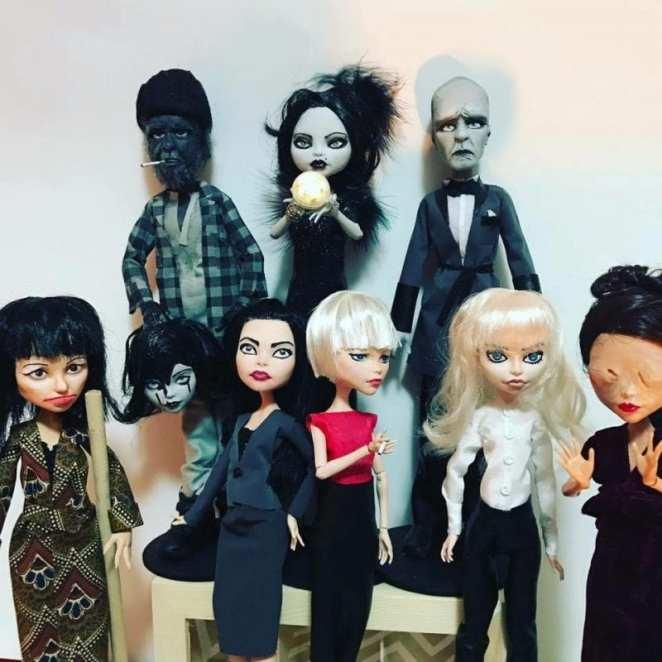 Twin Peaks dolls by Milly Moo