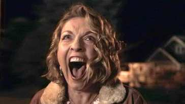 Carrie Page screaming