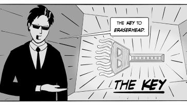 The key to eraserhead