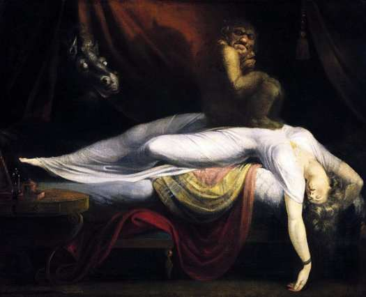 The Nightmare by Fuseli 1781