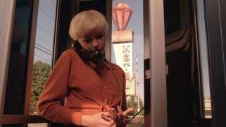 Teresa Banks on the phone