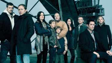 The original main cast of The Killing