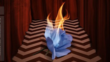 Cover art for the Criterion release of Twin Peaks: Fire Walk With Me