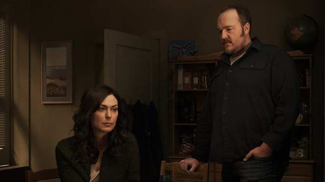 Mitch and Stan Larsen in The Killing