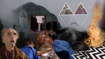 The Underworld of Twin Peaks collage