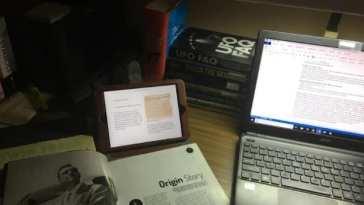 Secret History desk