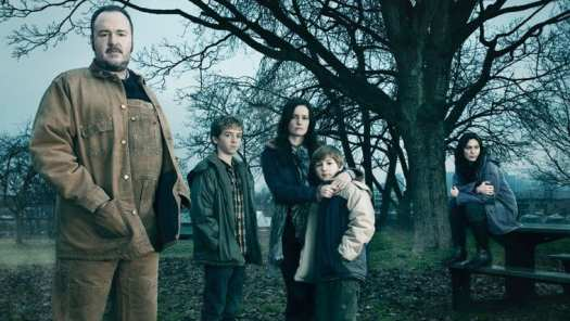 The Larsen family in The Killing