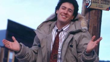 Joel wearing a winter coat in Cicely
