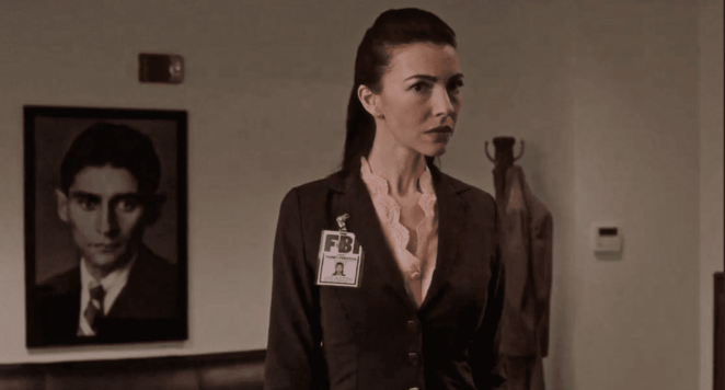 Franz Kafka, Special Agent Tammy Preston, Chrysta Bell, Twin Peaks, The Return