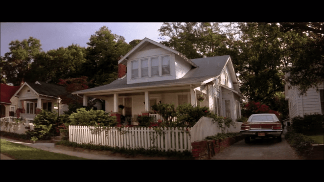 Sandy's house in Blue Velvet