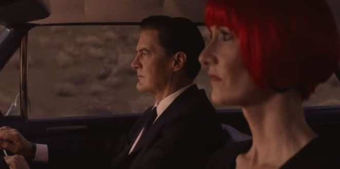 Cooper and Diane driving