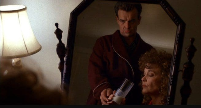Leland Palmer gives sarah palmer drugged milk
