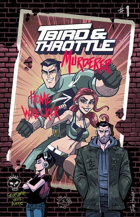 tbird and throttle cover art