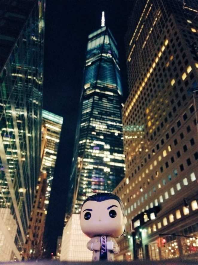 Cooper Funko Pop in New York